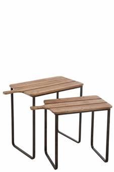 duverger-industry-bijzettafels-set-van-2-massief-houten-blad